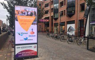 Reclamezuilen Hoofdstraat Veenendaal Veens Voordeel Van IJzendoorn Marketing Advies