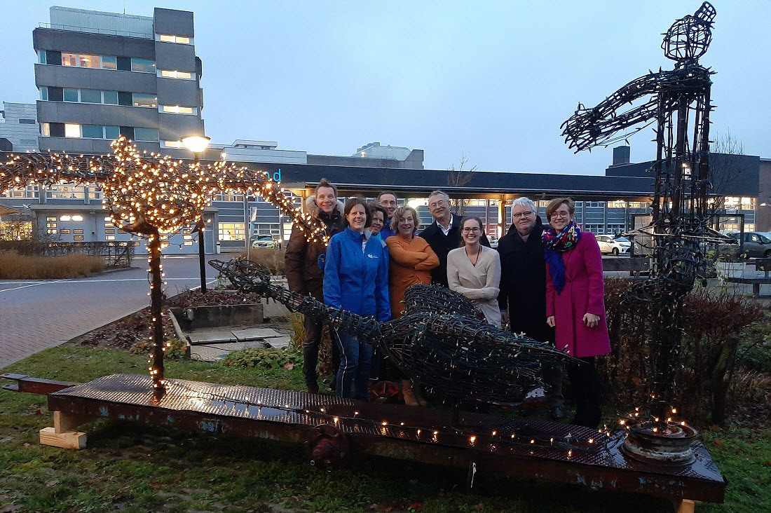 Lampjesactie Ziekenhuis Rivierenland Tiel