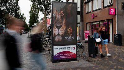 reclamezuil Veenendaal-Hoofdstraat